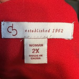 db established 1962 Tops - Red Top